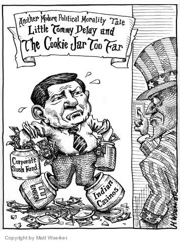 Cartoonist Matt Wuerker  Matt Wuerker's Editorial Cartoons 2005-03-18 Texas
