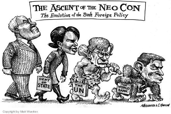 Cartoonist Matt Wuerker  Matt Wuerker's Editorial Cartoons 2005-03-18 Neocon