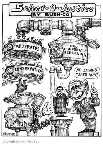 Cartoonist Matt Wuerker  Matt Wuerker's Editorial Cartoons 2005-08-30 test