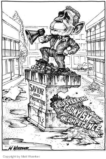Cartoonist Matt Wuerker  Matt Wuerker's Editorial Cartoons 2005-09-16 public opinion