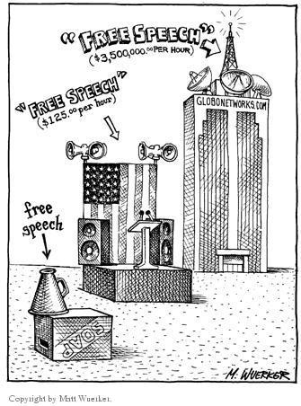 Matt Wuerker  Matt Wuerker's Editorial Cartoons 2002-00-00 media freedom