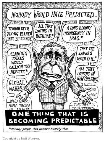 Matt Wuerker  Matt Wuerker's Editorial Cartoons 2005-10-07 credibility