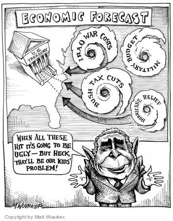 Cartoonist Matt Wuerker  Matt Wuerker's Editorial Cartoons 2005-10-31 tax