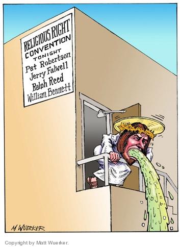 Matt Wuerker  Matt Wuerker's Editorial Cartoons 2005-11-10 church