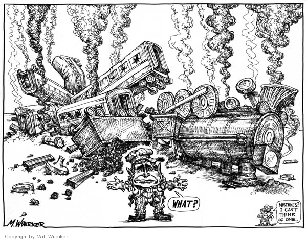 Cartoonist Matt Wuerker  Matt Wuerker's Editorial Cartoons 2005-12-02 George W. Bush