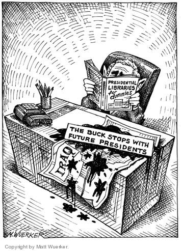 Cartoonist Matt Wuerker  Matt Wuerker's Editorial Cartoons 2006-03-30 president