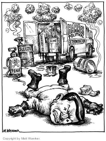 Matt Wuerker  Matt Wuerker's Editorial Cartoons 2006-04-06 corruption