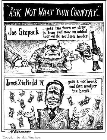 Cartoonist Matt Wuerker  Matt Wuerker's Editorial Cartoons 2006-05-19 tax