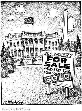 Matt Wuerker  Matt Wuerker's Editorial Cartoons 2002-00-00 payment