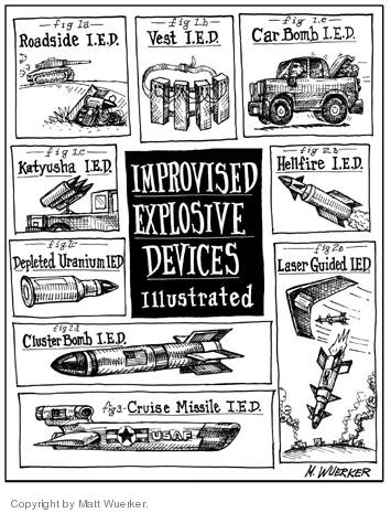 Cartoonist Matt Wuerker  Matt Wuerker's Editorial Cartoons 2006-07-19 terror