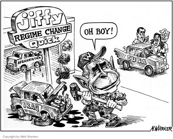 Matt Wuerker  Matt Wuerker's Editorial Cartoons 2006-08-11 Cuba