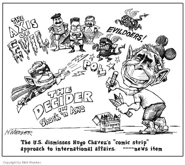 Matt Wuerker  Matt Wuerker's Editorial Cartoons 2006-09-21 international