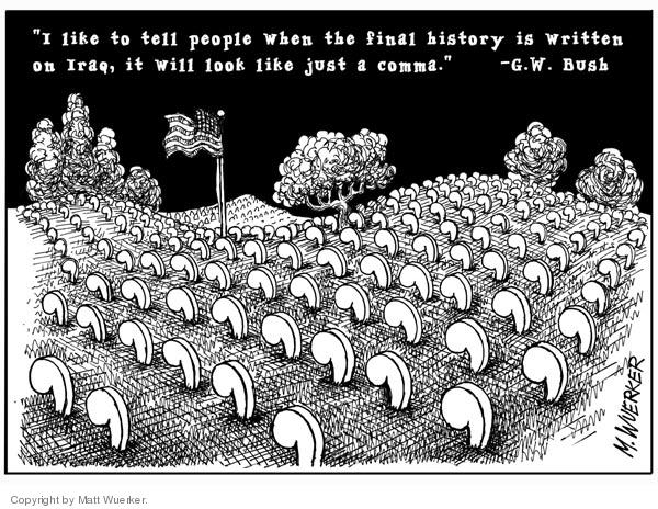 Matt Wuerker  Matt Wuerker's Editorial Cartoons 2006-09-29 historical
