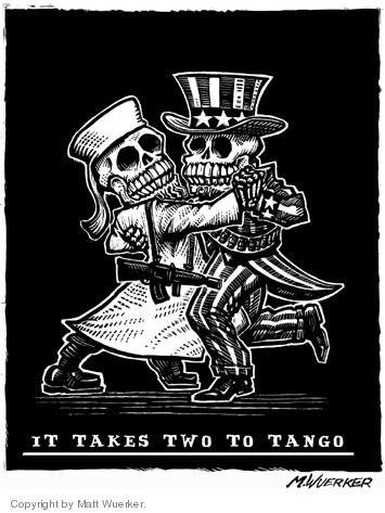 Cartoonist Matt Wuerker  Matt Wuerker's Editorial Cartoons 2006-10-24 terror