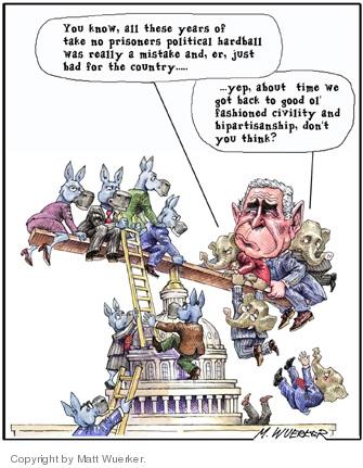 Cartoonist Matt Wuerker  Matt Wuerker's Editorial Cartoons 2006-11-01 public opinion