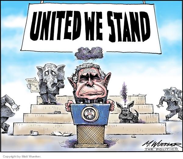 Cartoonist Matt Wuerker  Matt Wuerker's Editorial Cartoons 2007-01-25 public opinion