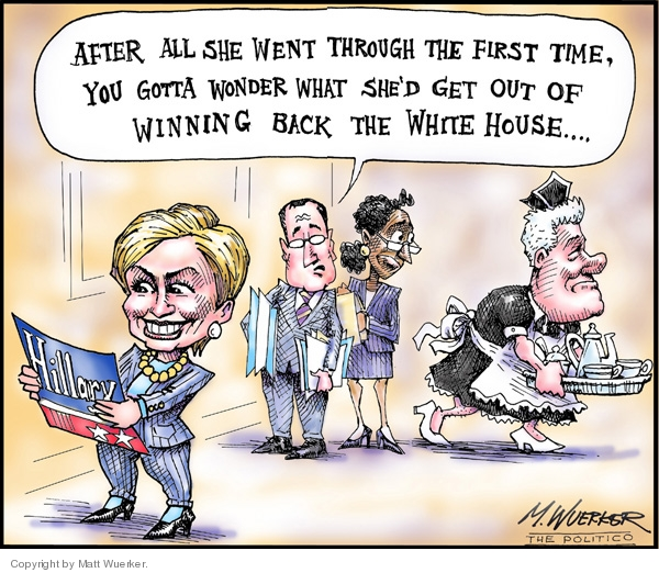 Cartoonist Matt Wuerker  Matt Wuerker's Editorial Cartoons 2007-01-30 payback