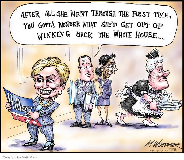 Matt Wuerker  Matt Wuerker's Editorial Cartoons 2007-01-30 back