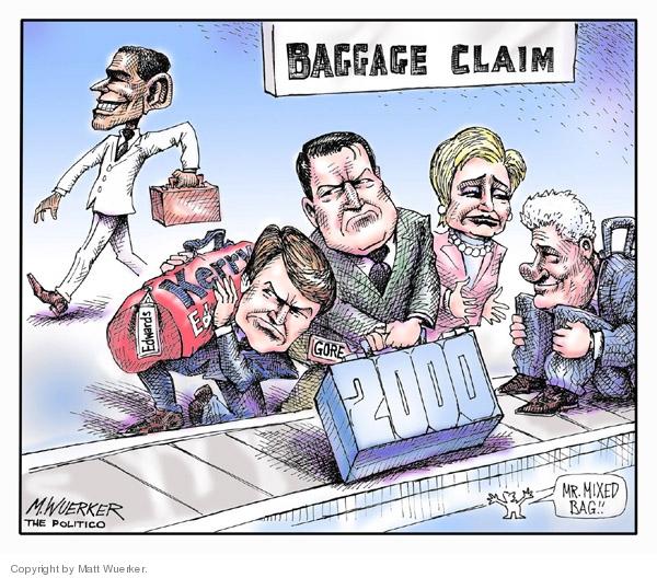 Cartoonist Matt Wuerker  Matt Wuerker's Editorial Cartoons 2007-02-08 Al Gore