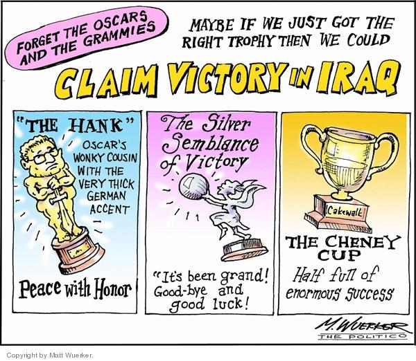 Cartoonist Matt Wuerker  Matt Wuerker's Editorial Cartoons 2007-02-16 Henry