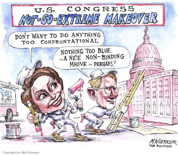 Cartoonist Matt Wuerker  Matt Wuerker's Editorial Cartoons 2007-03-02 house majority leader