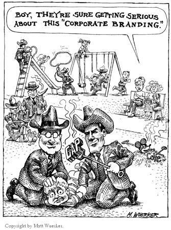 Cartoonist Matt Wuerker  Matt Wuerker's Editorial Cartoons 2000-00-00 business