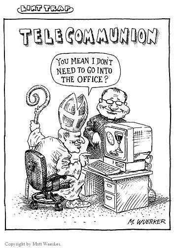 Matt Wuerker  Matt Wuerker's Editorial Cartoons 2002-11-18 church