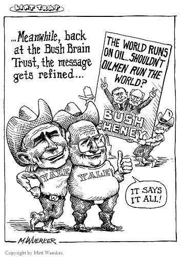 Cartoonist Matt Wuerker  Matt Wuerker's Editorial Cartoons 2002-12-31 vice president
