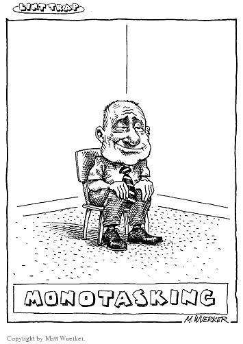 Matt Wuerker  Matt Wuerker's Editorial Cartoons 2003-01-28 man