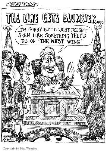 Cartoonist Matt Wuerker  Matt Wuerker's Editorial Cartoons 2003-02-04 television show