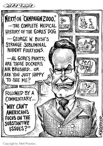 Cartoonist Matt Wuerker  Matt Wuerker's Editorial Cartoons 2002-03-18 Al Gore