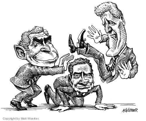 Matt Wuerker  Matt Wuerker's Editorial Cartoons 2004-09-09 2004 election