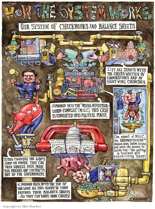 Cartoonist Matt Wuerker  Matt Wuerker's Editorial Cartoons 2005-11-18 government
