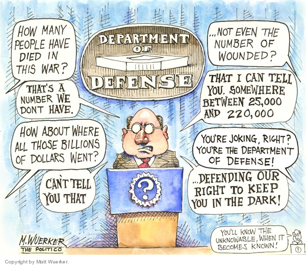 Cartoonist Matt Wuerker  Matt Wuerker's Editorial Cartoons 2007-03-06 government
