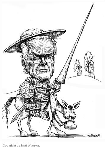 Cartoonist Matt Wuerker  Matt Wuerker's Editorial Cartoons 2006-11-08 army