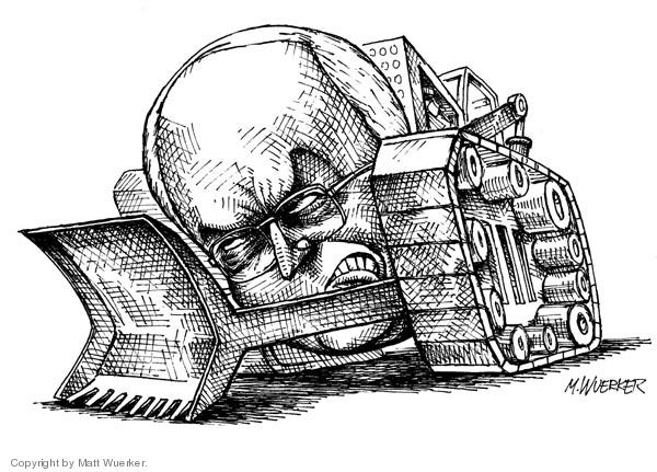 Matt Wuerker  Matt Wuerker's Editorial Cartoons 2005-11-22 manipulate
