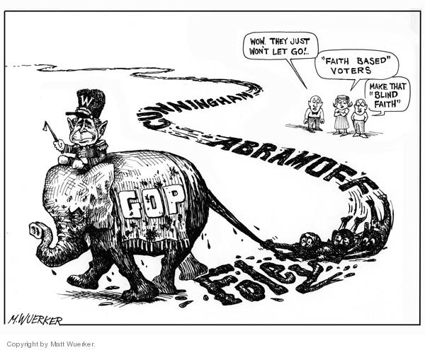 Matt Wuerker  Matt Wuerker's Editorial Cartoons 2006-10-13 abuse