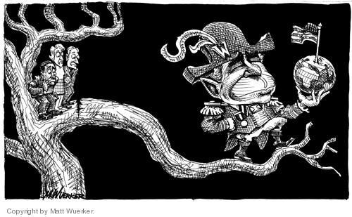 Matt Wuerker  Matt Wuerker's Editorial Cartoons 2004-09-24 diplomatic