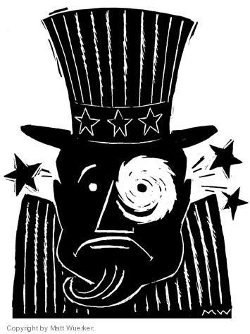 Cartoonist Matt Wuerker  Matt Wuerker's Editorial Cartoons 2005-09-02 eye