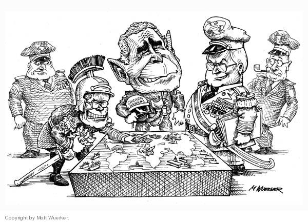 Matt Wuerker  Matt Wuerker's Editorial Cartoons 2006-08-11 position