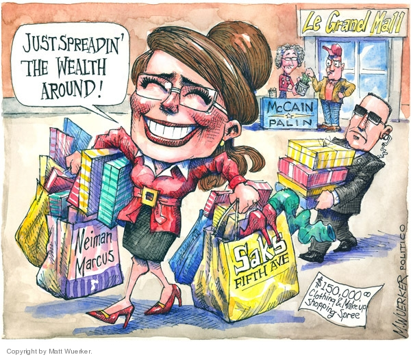 Cartoonist Matt Wuerker  Matt Wuerker's Editorial Cartoons 2008-10-22 image