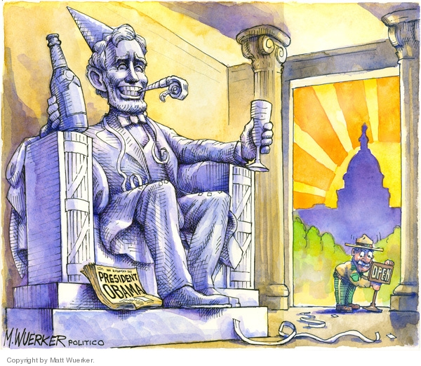 Cartoonist Matt Wuerker  Matt Wuerker's Editorial Cartoons 2008-11-05 hold