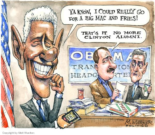 Cartoonist Matt Wuerker  Matt Wuerker's Editorial Cartoons 2008-11-26 president