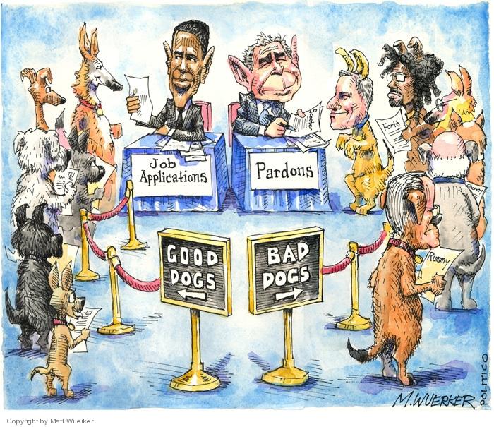 Matt Wuerker  Matt Wuerker's Editorial Cartoons 2008-12-09 Bush administration