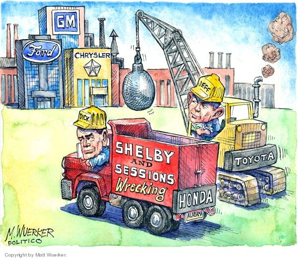 Cartoonist Matt Wuerker  Matt Wuerker's Editorial Cartoons 2008-12-11 recession