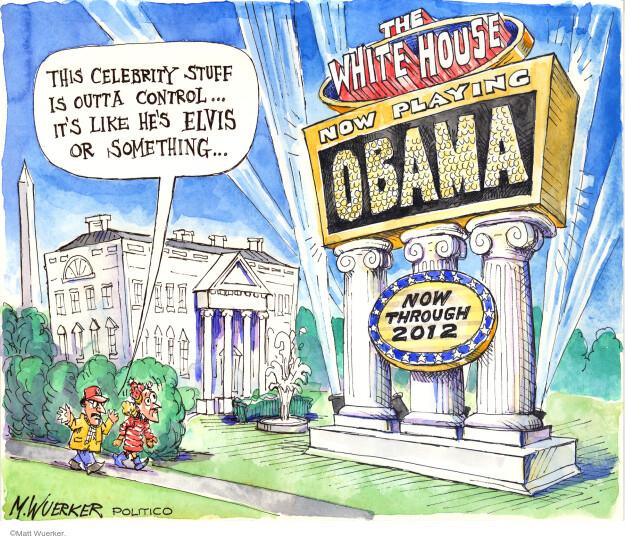 Cartoonist Matt Wuerker  Matt Wuerker's Editorial Cartoons 2009-01-27 president