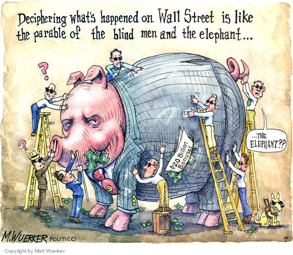 Cartoonist Matt Wuerker  Matt Wuerker's Editorial Cartoons 2009-02-02 executive