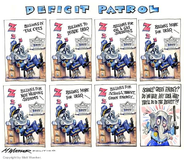 Cartoonist Matt Wuerker  Matt Wuerker's Editorial Cartoons 2009-02-09 Iraq oil
