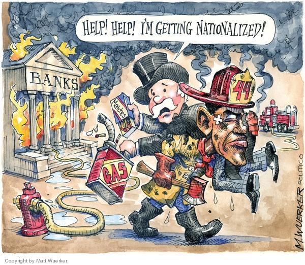Cartoonist Matt Wuerker  Matt Wuerker's Editorial Cartoons 2009-02-25 president