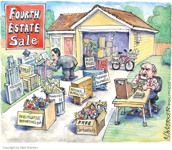 Cartoonist Matt Wuerker  Matt Wuerker's Editorial Cartoons 2009-02-26 journalism